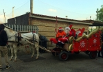 carrozza con cavallo