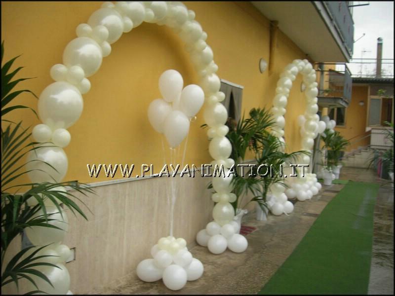 Come fare un arco di palloncini mj27 regardsdefemmes - Decorazioni matrimonio palloncini ...
