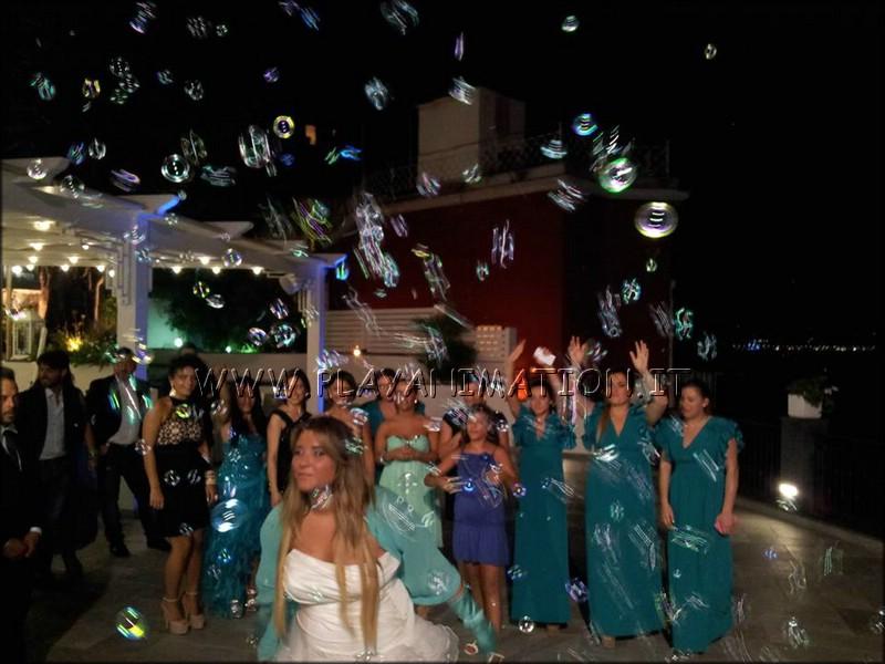 Matrimonio Con Bolle di Sapone