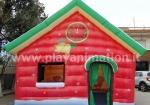 casa di babbo natale fronte