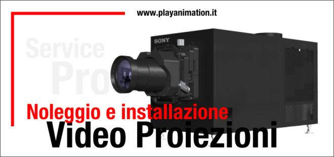 header video proiezioni