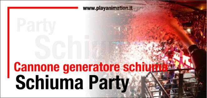 schiuma party napoli