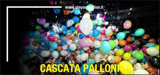 cascata palloni