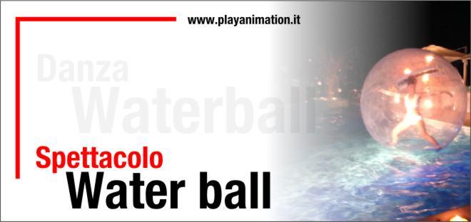 water ball spettacolo napoli