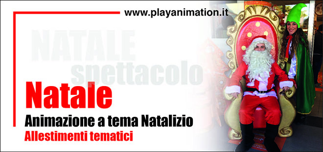 leader natale play animation