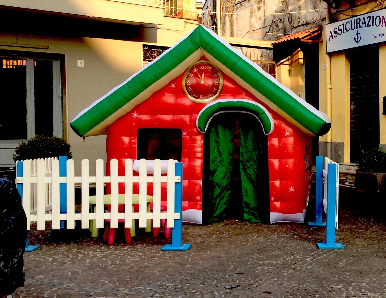 casa di babbo natale piccola