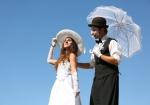 trampolieri sposi