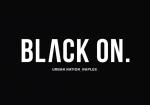 black on