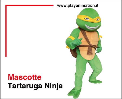Mascotte-tartaruga-ninja