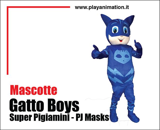 mascotte gatto boys
