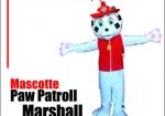 Mascotte Paw Patroll Marshall